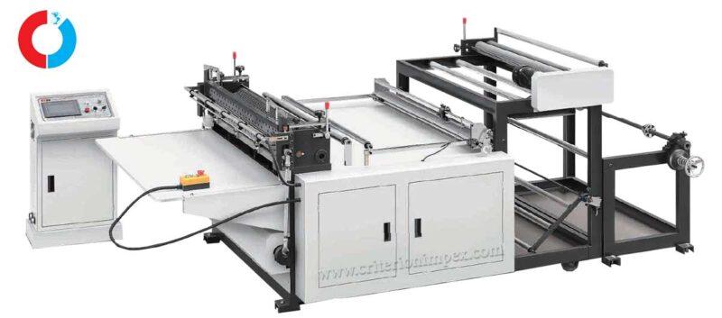 Single sheet non-woven fabric cross-cutting machine